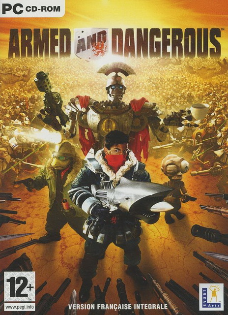 Armed and Dangerous save game PC