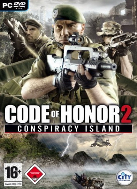 Code of Honor 2 : Conspiracy Island save game