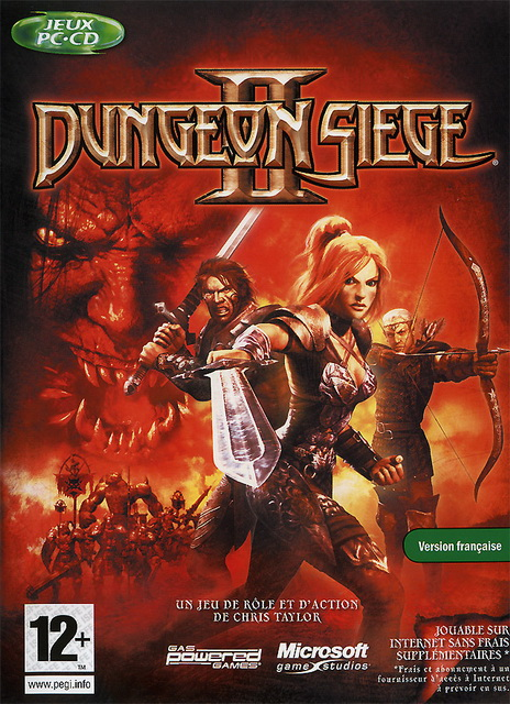 Dungeon Siege II save game 100%