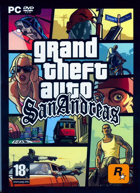 Grand Theft Auto: San Andreas PC game save