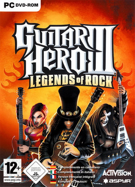 Guitar Hero III: Legends of Rock PC game save