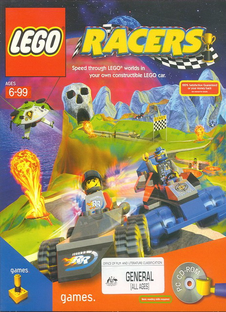 LEGO Racers save game 100% for PC