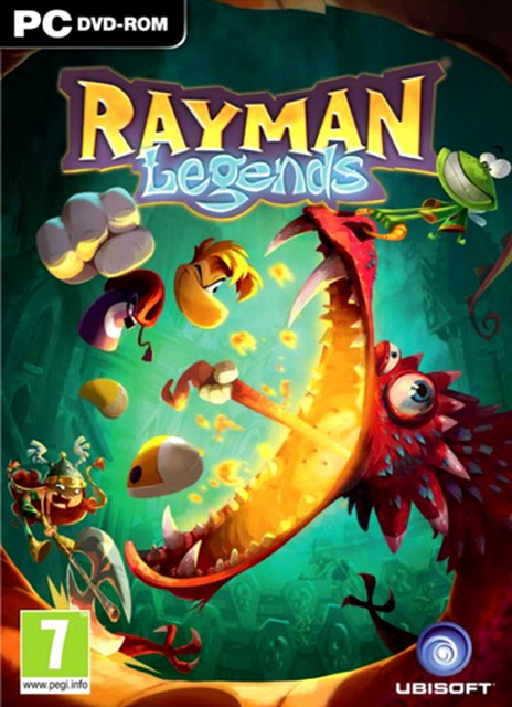 Rayman Legends PC save game 100%