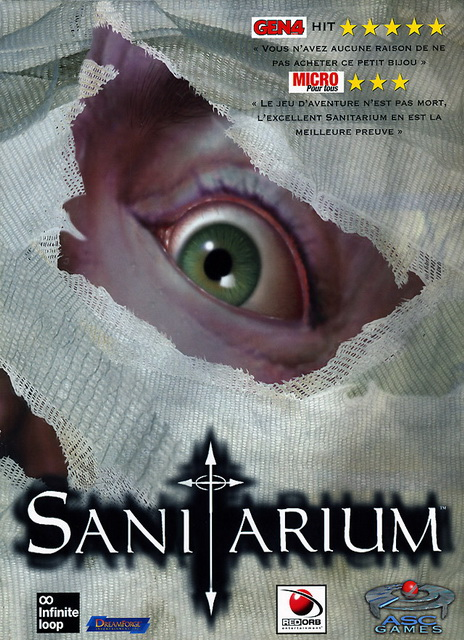 Sanitarium PC save game 100%