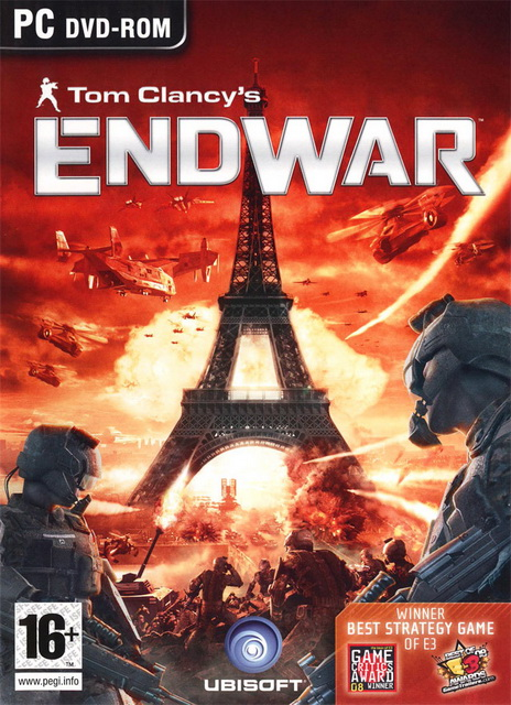 Tom Clancy's EndWar pc save game 100%
