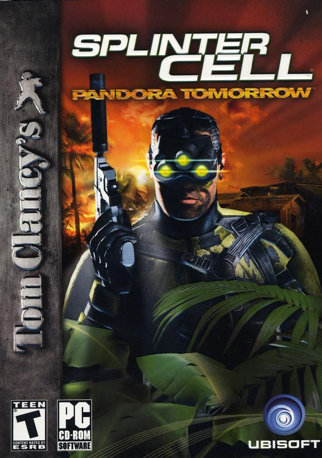 Tom Clancy's Splinter Cell Pandora Tomorrow pc saved game 100%