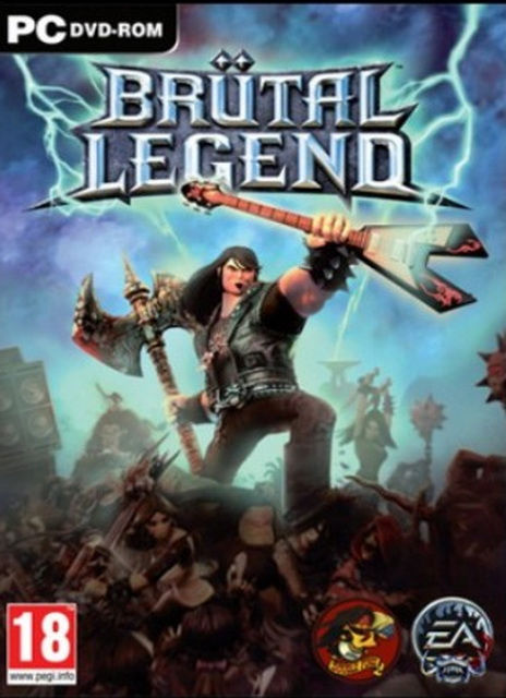 Brutal Legend game save 100%