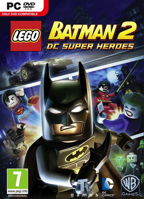 LEGO Batman 2: DC Super Heroes save game 100%