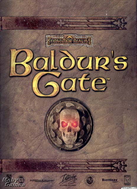 Baldur's Gate pc saved game