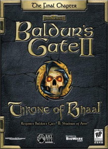 Baldur's Gate II : Throne of Bhaal pc save game