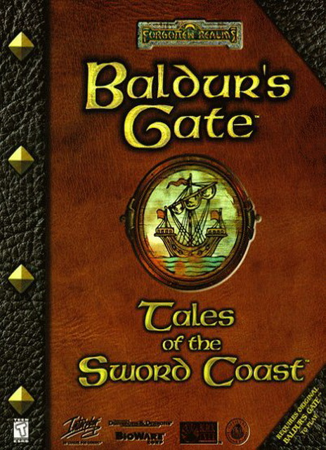 Baldur's Gate: Tales of the Sword Coast save game 100%