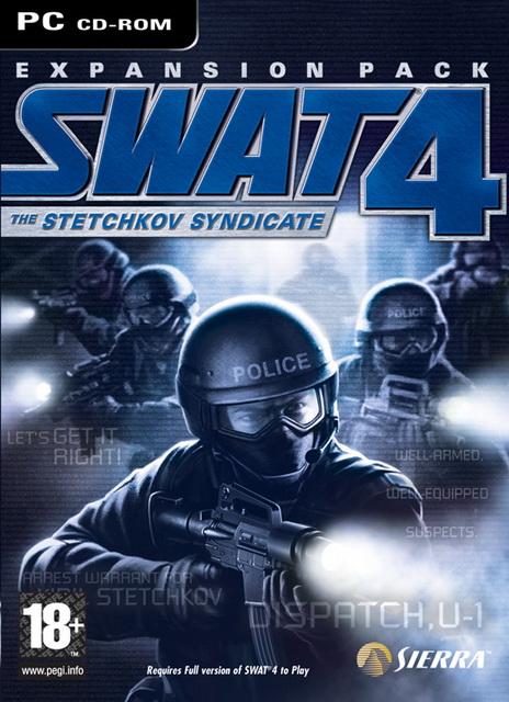 SWAT 4: The Stetchkov Syndicate expansion savegaùe
