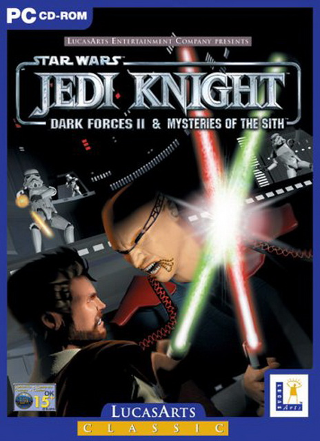 Star Wars Jedi Knight: Mysteries of the Sith PC gamesave 100%
