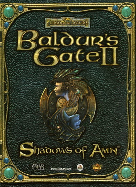 Baldur's Gate II : Shadows of Amn base game saves