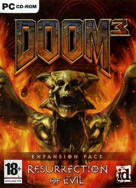 Doom 3  Resurrection of Evil saved game 100%