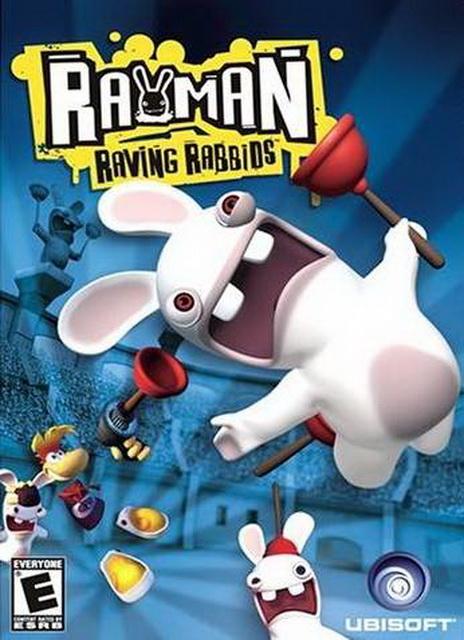 Rayman Raving Rabbids complete save 100