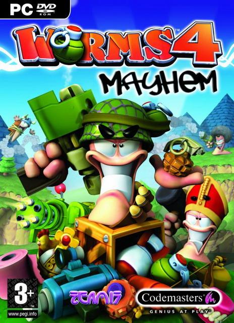 Worms 4: Mayhem save game PC 100%