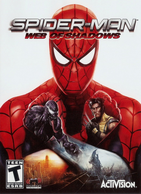 Spider-Man: Web of Shadows complete save game all missions unlocked