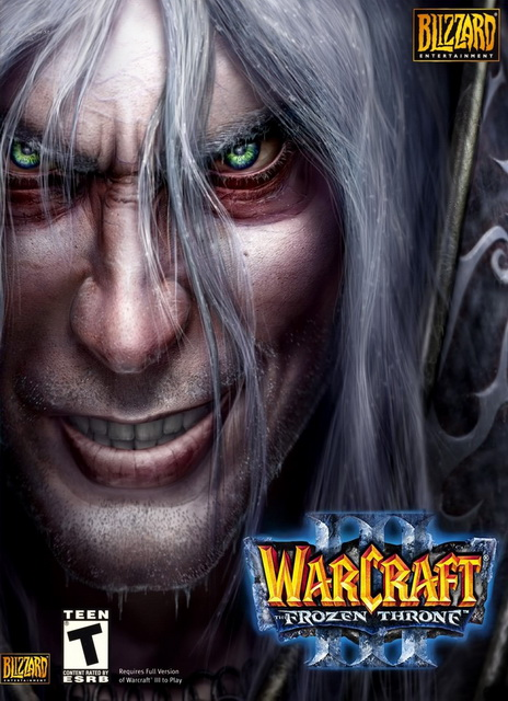 Warcraft III: The Frozen Throne save game 100%
