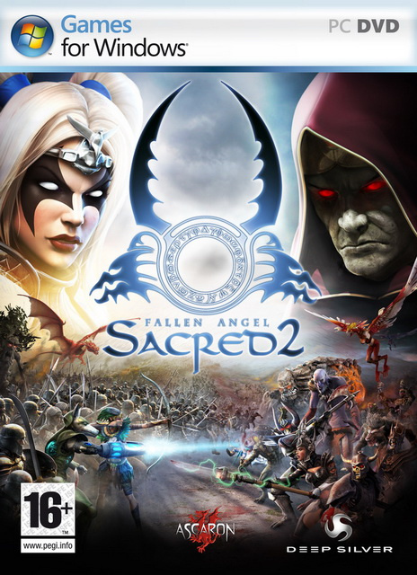 Sacred 2 Fallen Angel full game save level 200