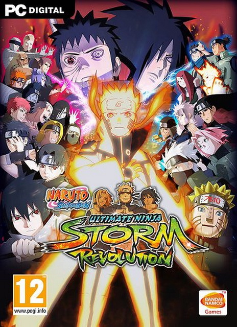 Naruto Shippuden Ultimate Ninja Storm Revolution pc savegame 100%