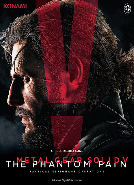 Metal Gear Solid 5: The Phantom Pain cover saved game 100% complete